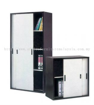Full Height & Half Height Steel Cupboard with Steel Sliding Door