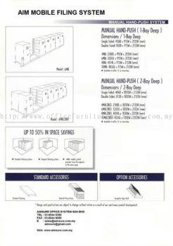 Handpush Mobile Compactors Specs
