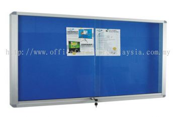 Aluminium Frame Notice Boad Cabinet With Foam Board