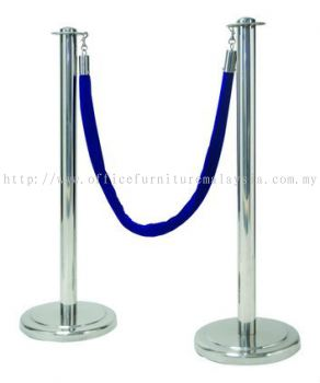 Queue Up Stand Retractable ( Blue )