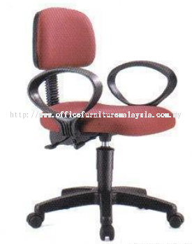 Speciality Typist Chair with Armrest (AIM6178)