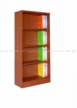 High Openshelf Cabinet 4 Tier (Full Cherry)