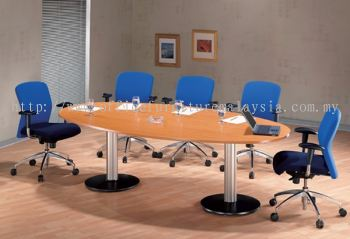 Egg shape conference table