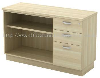 Low Open Shelf + Fixed Pedestal (AIM7123YOP)