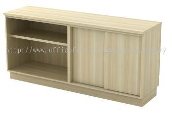 Open Shelf + Sliding Door Low Cabinet (AIM7160YOS)