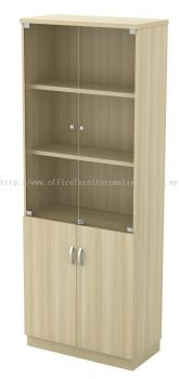 High Cabinet Swinging Door with Glass (AIM21YGD)