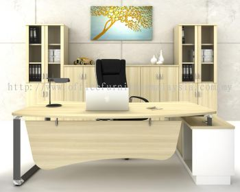 Director table with side cabinet AIM 2462O