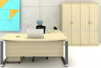 Director table with side cabinet O180A