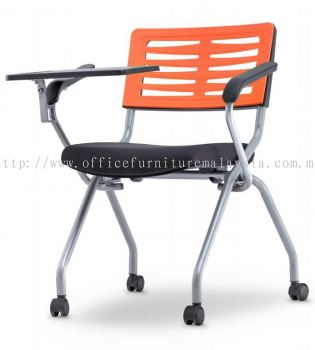 Seminar folding chair with tablet AIM2ST-AXIS