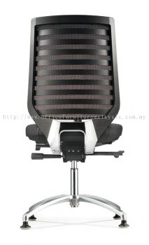 Presidential Visitor Netting chair with stud  AIM8214L-90C (back view)