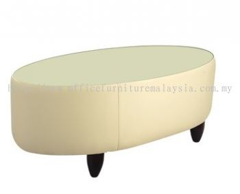 Couch glass top coffee table AIM 022-MT