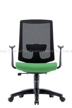 Presidential Mediumback Mesh Chair AIM1MB-AMBER