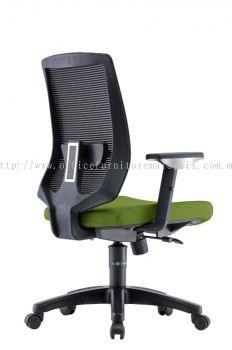 Presidential Mediumback Mesh Chair AIM2MB-AMBER