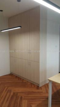 Office customade swing door filing cabinet