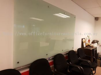 Tempered glass writing board 8 x 4