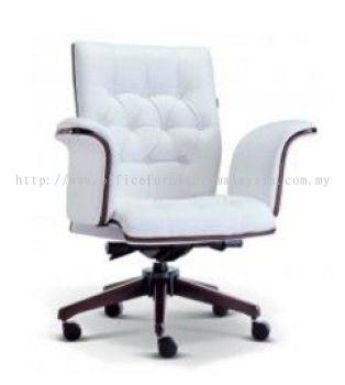 Grand Presidential low back chair AIM2183H (Wood)