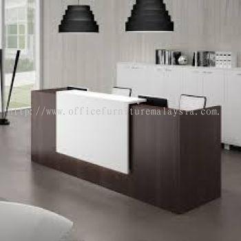 Modern reception counter rectangular