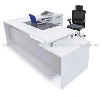 Director table with side return AIM7HD 1(Front view)