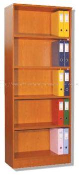 High Openshelf 5 tiers Cabinet (Full beech)