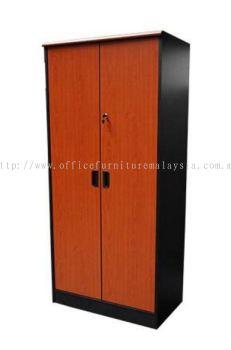 High swing door cabinet (Cherry and Dark grey)