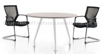 Discussion table with Ixia metal leg