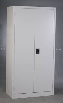 Full height steel cabinet with swing door