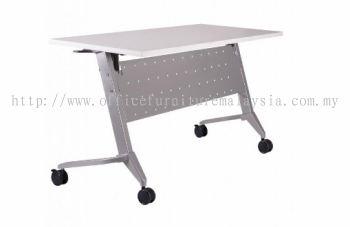 Heavy duty foldable table with custor A1