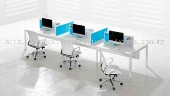 6 pax workstation with Rumex leg