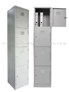 4 compartment steel locker 381W