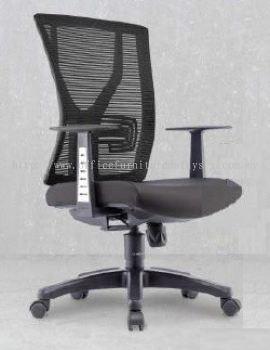 YY Presidential medium back mesh chair AIM1MB-YY (Side view)