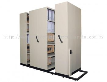 HAND PUSH MOBILE COMPACTOR (4 Bay)