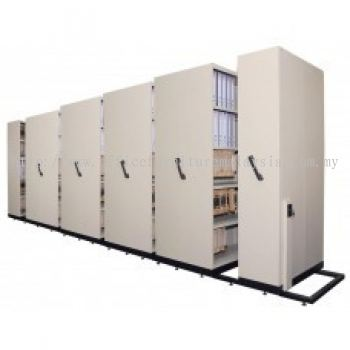 HAND PUSH MOBILE COMPACTOR (10 Bay)