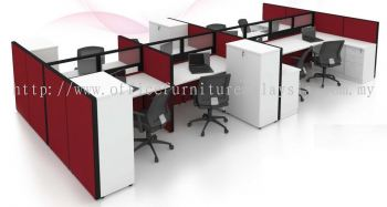 6 cluster Workstation with cabinets