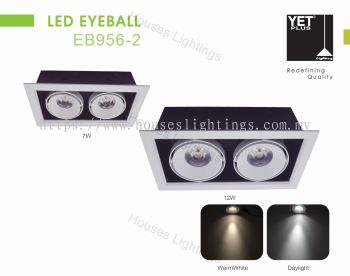 YET EB956-2 2X7W 2X12W WH DL/WW LED