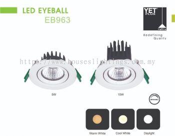 YET EB963 5W 10W DL CW WW LED (DIMMABLE)