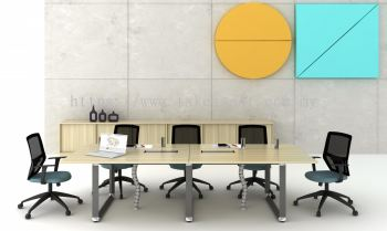 RECTANGULAR CONFERENCE TABLE + CABINET SET