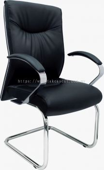 VISITOR CHAIR FULL LEATHER