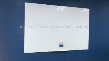 Frameless Tempered Glass Writing Board (NEW)