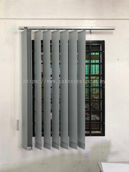 Vertical Blind Curtain Office