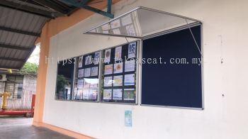 Aluminum Frame Display Cash
