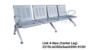 Link Chair 4  Seater