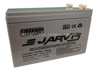 E-Jarvis 12V 7.2Ah Backup Battery
