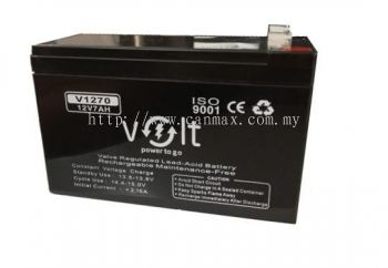 Volt 12V 7.0Ah Backup Battery