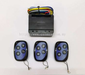 Rolling 4Channel Remote Control (Set) Frequency 433