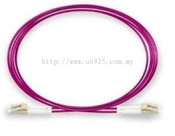 Patch Cord, LC to LC, Duplex LSZH, OM4,  3mtr