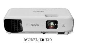 Epson Projector (Model: EB-E10)