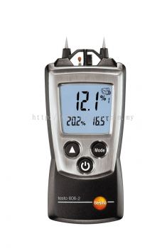 testo 606-2 - Moisture Meter for Material Moisture & Relative Humidity