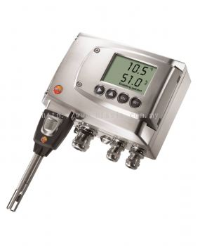 testo 6681 - Temperature / Humidity Transmitter for Critical Applications