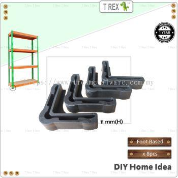 T Rex L Angle Foot Based / Bottom Stopper for Boltless Storage Rack