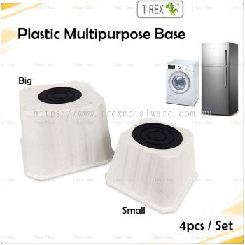 4pcs Felton Plastic Fridge Base / Washing Machine Base / Foot Base